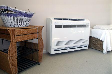 Aire acondicionado en una habitacion