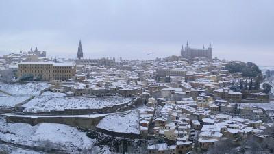 Toledo con nieve