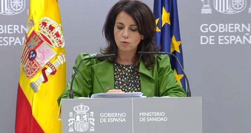 La secretaria de Estado de Salud, Silvia Calzon