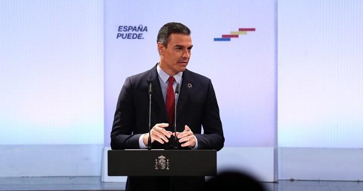 """Sánchez presiona al PP para """"arrimar el hombro"""" ante los grandes del Ibex"""