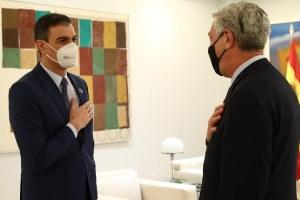 El presidente del Gobierno se reúne con el Alto Comisionado de Naciones Unidas para los Refugiados (ACNUR)