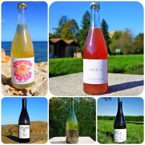 Botellas de Vinos naturales