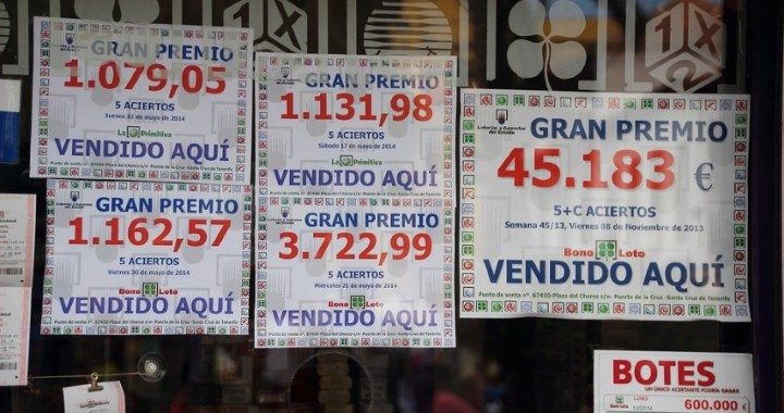 Se pueden adquirir décimos de lotería de distintas provincias de España sin salir de casa