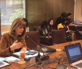 Senadora Ximena Rincón destacó despacho a ley de proyecto que establece estatuto de los Asistentes de la Educación Pública
