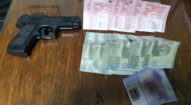 Colbún: Robo con intimidación dejó cuatro detenidos en bencinera HN