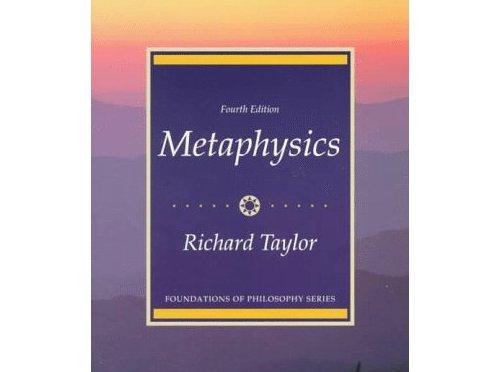 PHIL203 Metaphysics 形上學