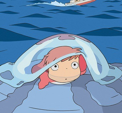 崖上的金魚公主 Ponyo on the Cliff