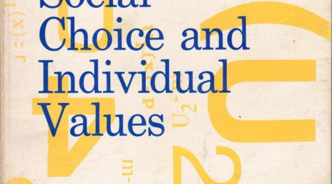 Social Choice and Individual Values (2nd Ed.) – Kenneth J. Arrow