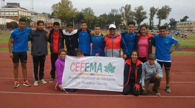 Atletas locales lograron  tres oros en Rosario