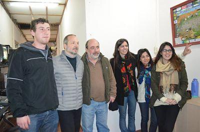 Sabbatella visitó a Curutchet y defendió a Cristina
