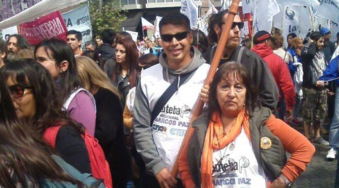 "Ana Rodríguez, Suteba Marcos Paz:  ""¿Por qué seguimos de paro?"""
