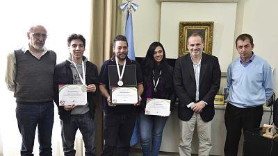 """Estudiantes de Marcos Paz, ganadores en Feria de Ciencias en México: """"Mejor proyecto internacional"""""""
