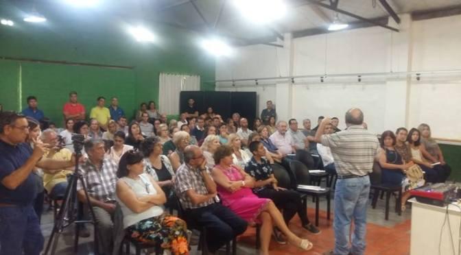 El intendente Ricardo Curutchet hizo el balance anual, citando a Cristina