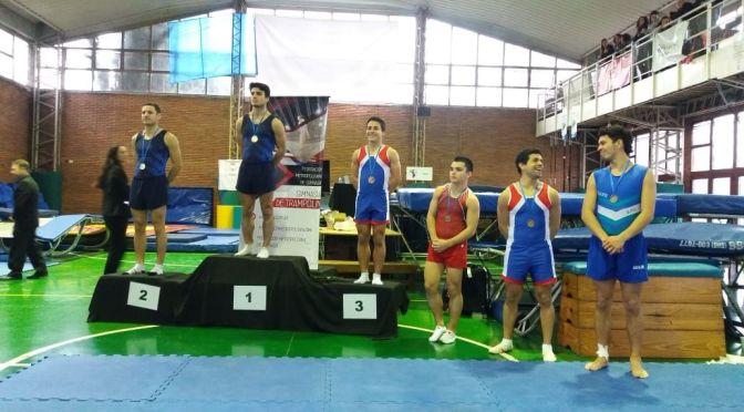 El equipo de gimnasia obtuvo el tercer lugar