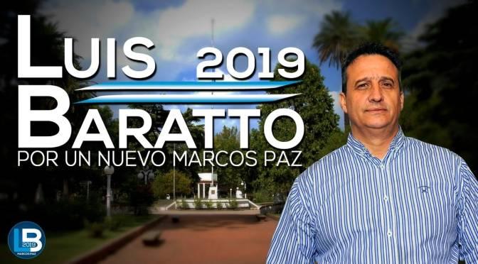 Luis Baratto, en campaña