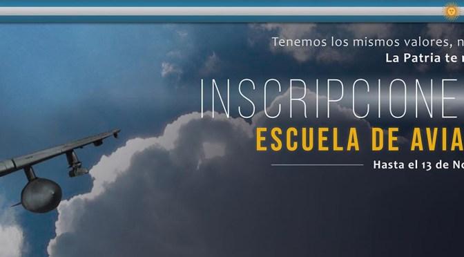 Ingreso 2020 a la Fuerza Aérea Argentina