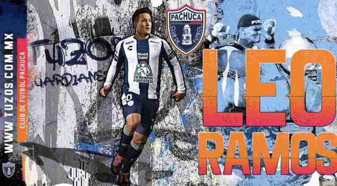 Leo Ramos se convirtió en jugador del Pachuca mexicano; debutó jugando bien