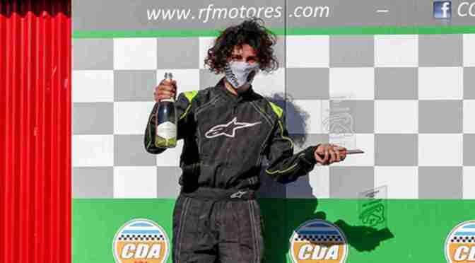 Juan Ignacio Testti Braga hizo podio con su karting