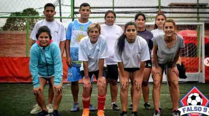 Arrancó el torneo de fútbol mixto en las canchas Fair Play, coordina #Falso 9