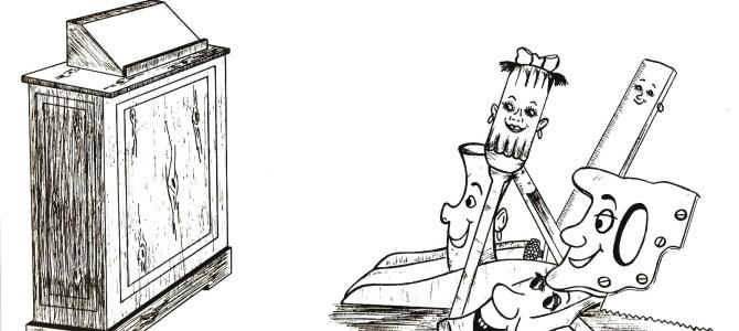 Quem é o mais importante o martelo, o serrote, o parafuso, a lixa, o metro, a plaina ou a chave de fenda?