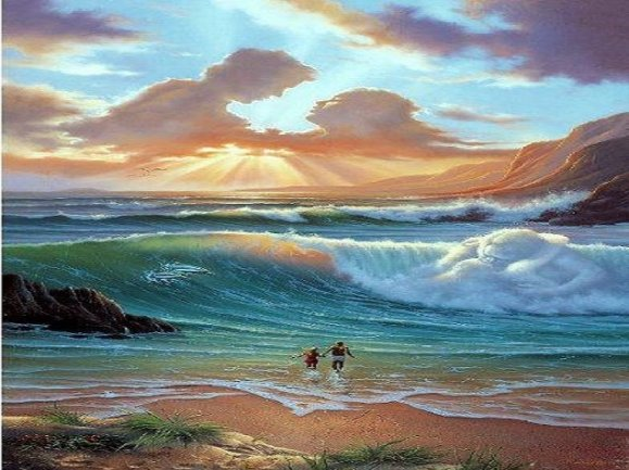 Mar de amor - Dali