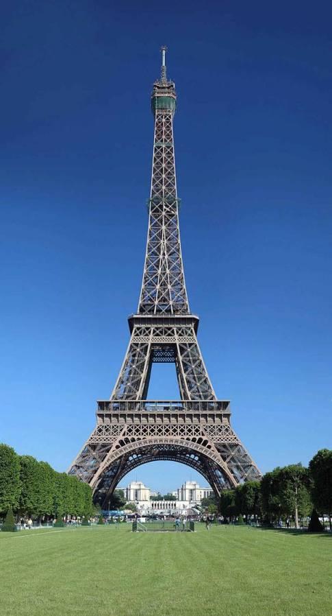 Torre Eiffel Construcao 36