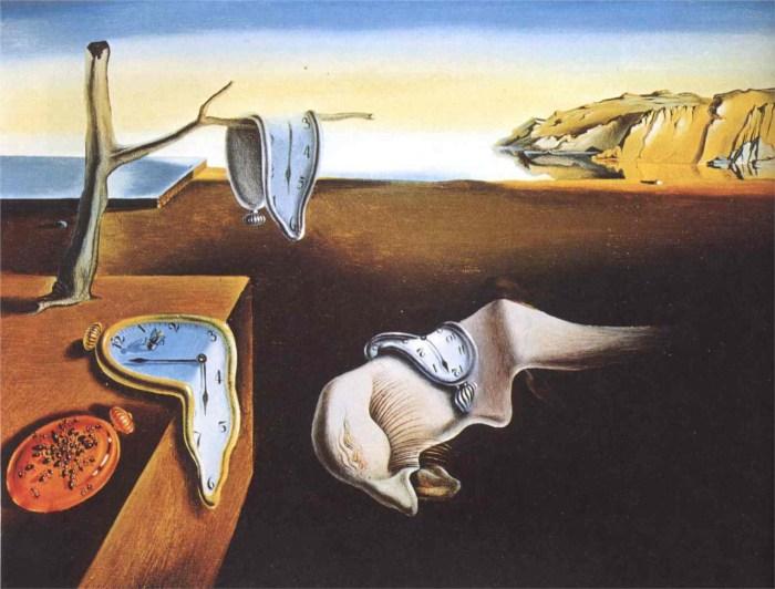 Salvador Dali - Mente e tempo