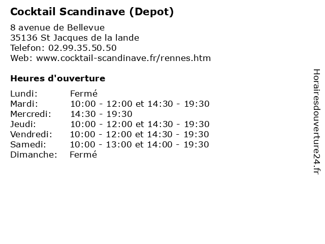 cocktail scandinave depot