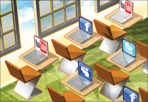 Social media and schools: powerful or perilous?