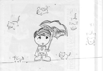 Raining Cats & Dogs by Di Mayo