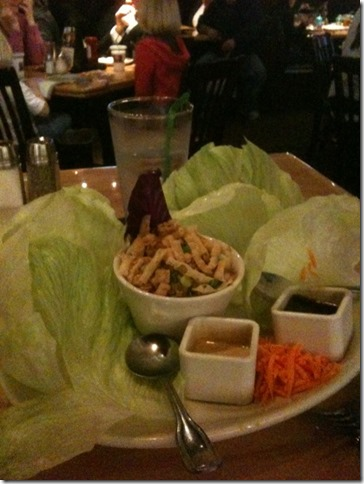 Asian Sala Wraps