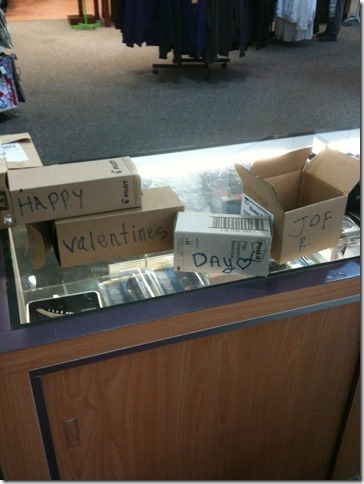Valentine's Day Boxes