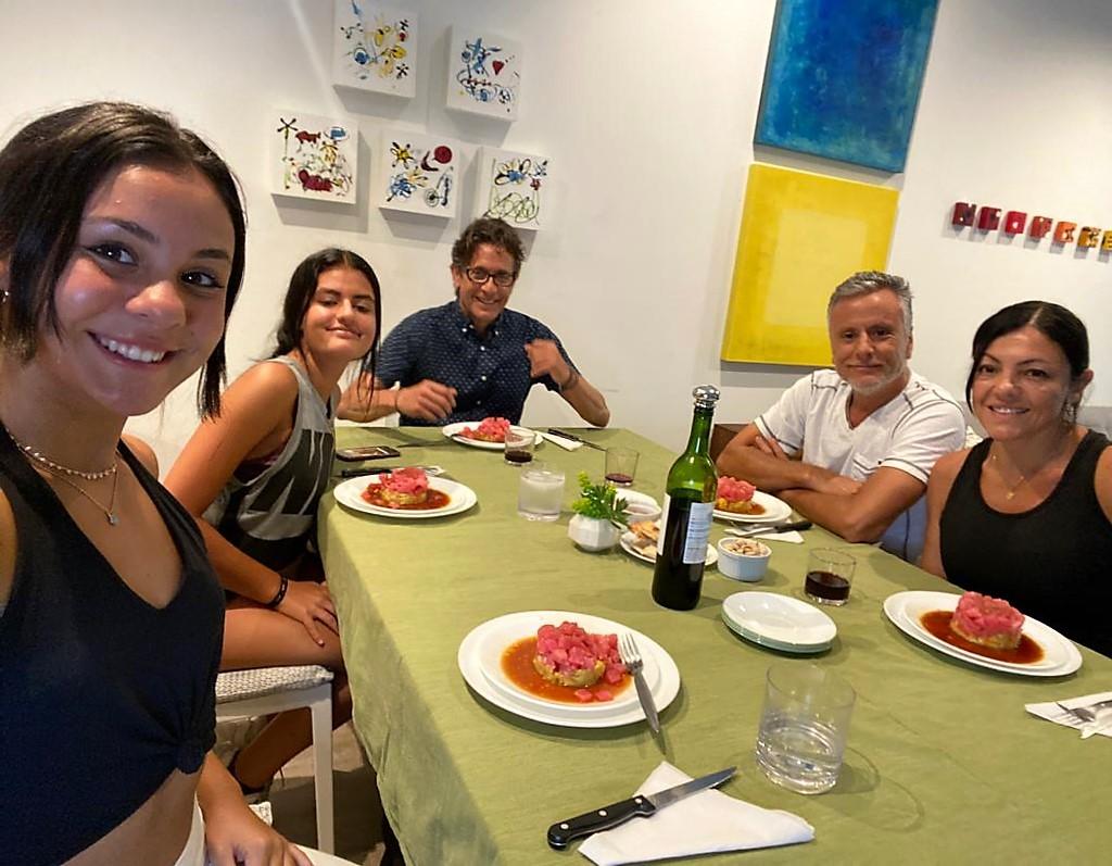 Cocinando en familia con Nani