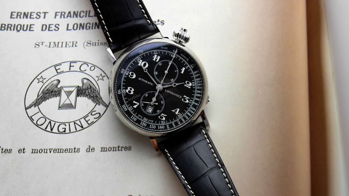 The Longines Heritage Avigation Watch Type A 7 Horbiter