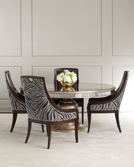 JohnRichard Collection Markham Leather Dining Chair