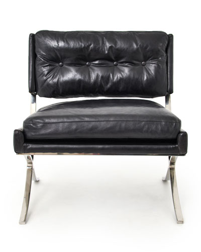 leather chair ottoman camping rocking handcrafted horchow com quick look prodselect checkbox brendan