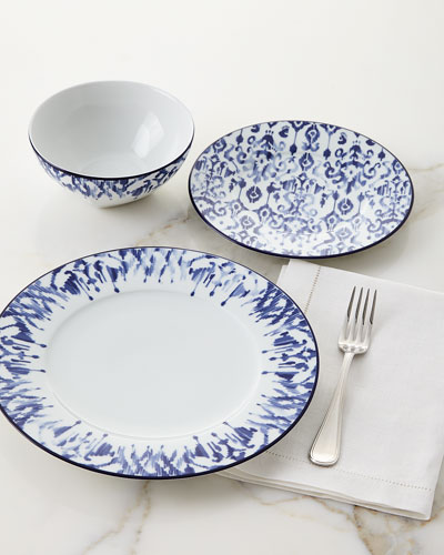blue dishwasher safe dinnerware horchow com