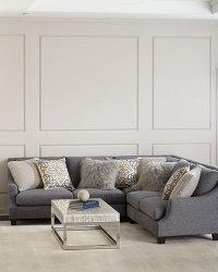 Down Blend Sectional Sofa | Baci Living Room