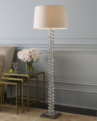 Floor Lamps Crystal - The Drawing Room Interiors as 2016