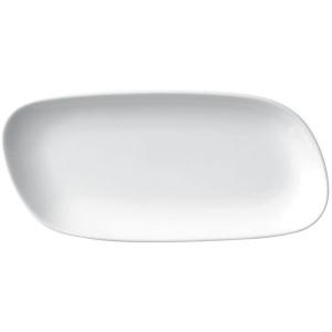 Porland Perspective Beyaz Kayık Tabak 19 Cm Kare Tabaklar