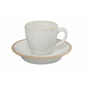 Porland Seasons Bej Tabaklı Kahve Fincanı 80 Cc Bardaklar