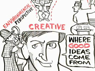 where good ideas come from, steven johnson, creativity