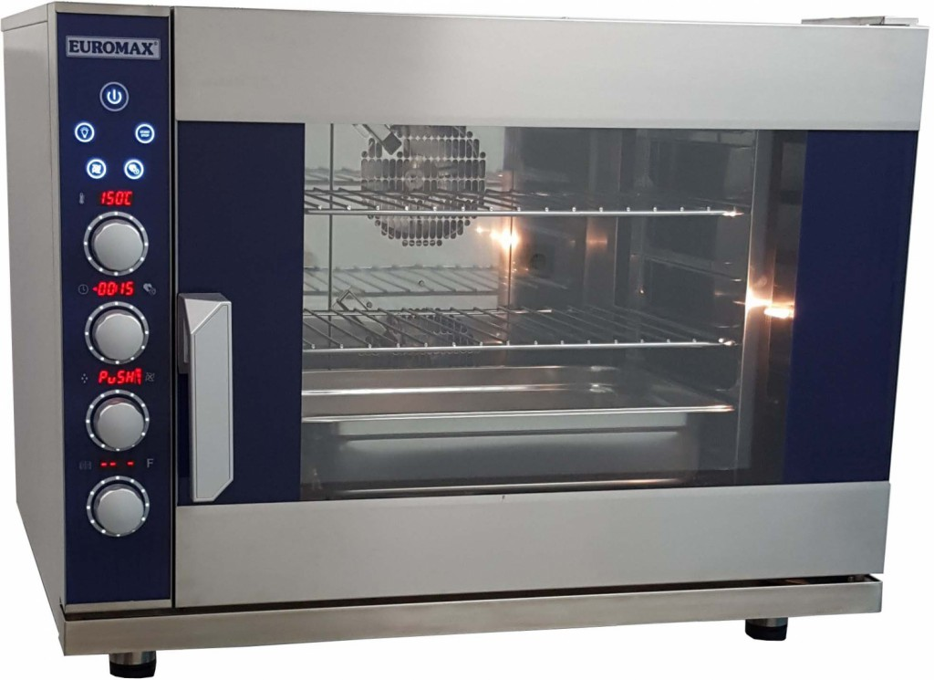 euromax electric steam oven d9806pbh digital 6 layers 400 v