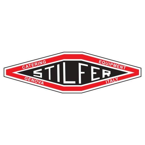 Illustratie: afbeelding van het logo van Stilfer Catering Equipment uit Genova in Italië.