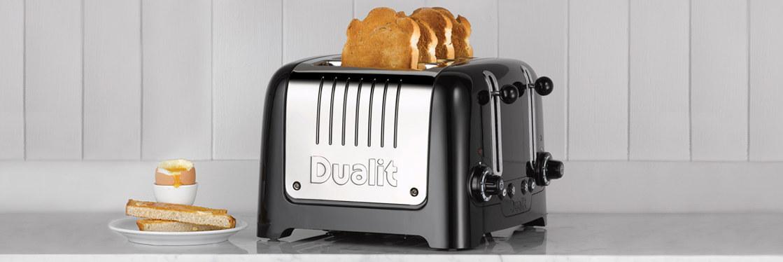 Foto van een Dualit toaster.