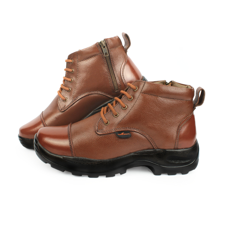 118c7e57e9f Article- 666 Police Tan Brown Leather Oxford Chain Boot (Police Oxford  Uniform Shoes In Leather / Officer Shoes / Police chain boot / Police shoes)