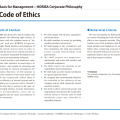 Ethics in business examples code of ethics