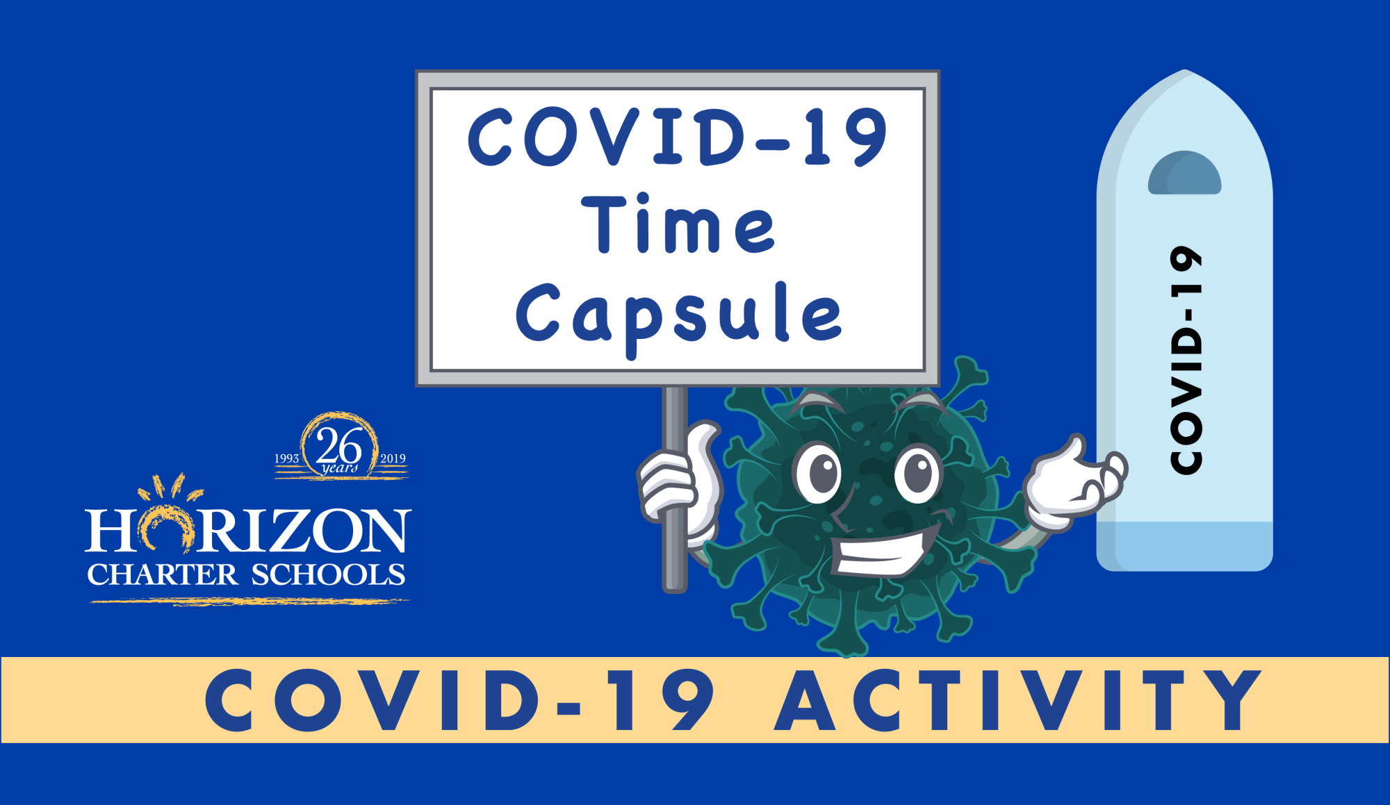 hight resolution of COVID-19 Time Capsule Activity for Home School Students of All Ages    Horizon Charter Schools