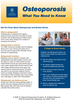 You Might Have Osteoporosis Horizon Family Medical Group New York