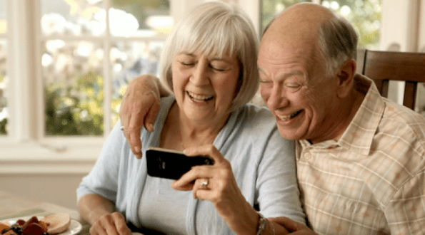 Image result for pictures of grandparents skyping with grandkids